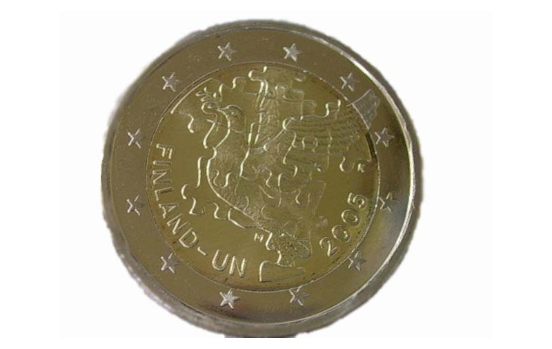 2 Euro Sondermünze Italien 2004 World Food Programme Gedenkmünzen