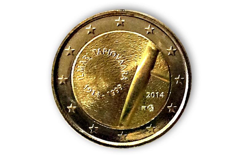 2 Euro Sondermünze Finnland 2014 Gedenkmünzen Kaufen Sonderausgabe