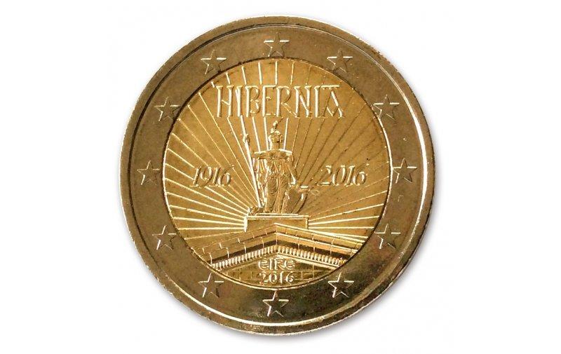 2 Euro Sondermünze Irland 2016 Gedenkmünzen Kaufen