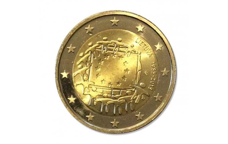 2 Euro Sondermünze Litauen 2015 Gedenkmünzen Kaufen