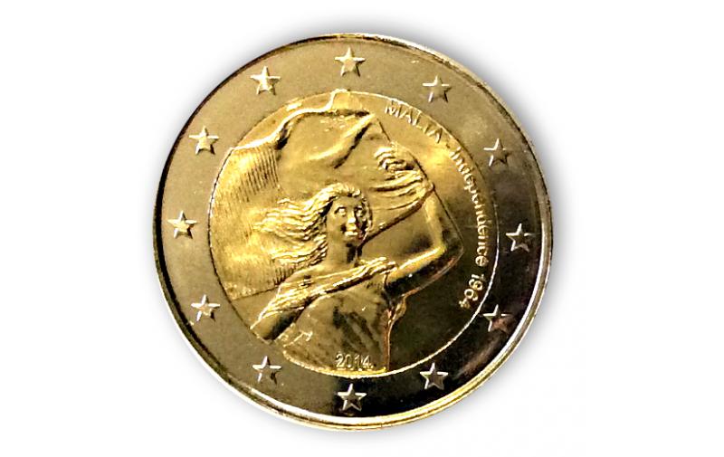 2 Euro Sondermünze Malta 2014 Unabhängigkeit Gedenkmünzen Kaufen