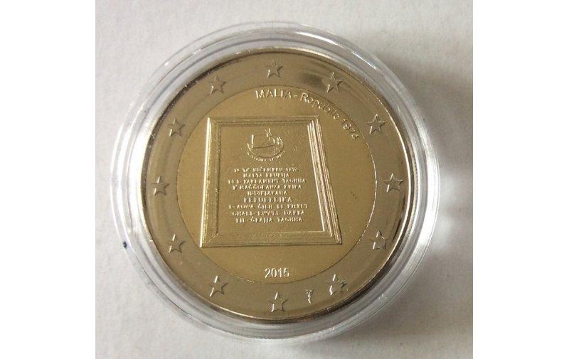 2 Euro Sondermünze Malta 2014 Polizei Gedenkmünzen Kaufen