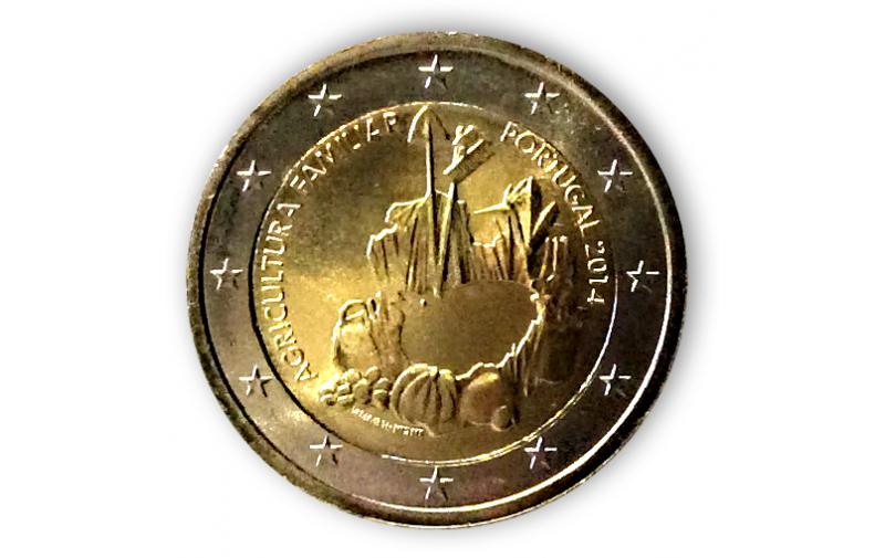 2 Euro Sondermünze Portugal 2014 Bauernbetriebe Vorverkauf