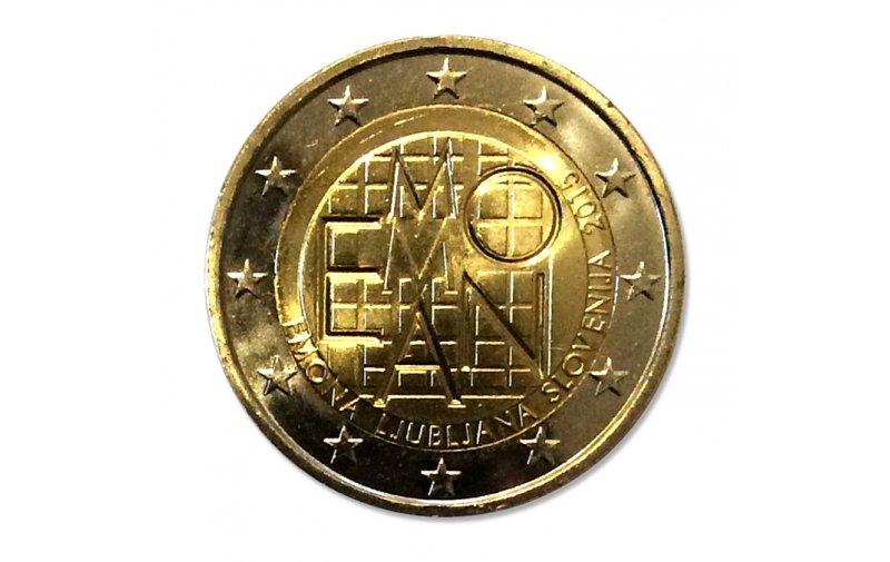 2 Euro Sondermünze Slowenien 2015 Emona Ljubljana