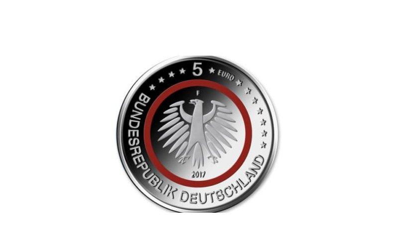 5 Euro Münze Deutschland 2017 Klimazonen Tropische Zone 3490