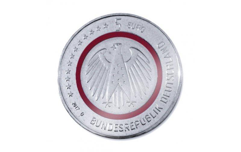 5 Euro Münze Deutschland 2017 Spiegelglanz Pp Klimazonen Der Erde Tropische Zone