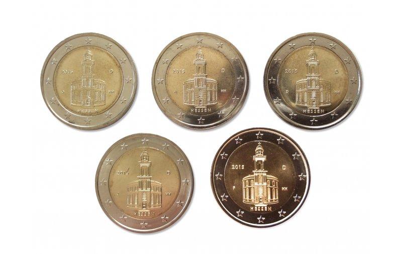 2 Euro Sondermünze Deutschland 2015 Gedenkmünzen Kaufen