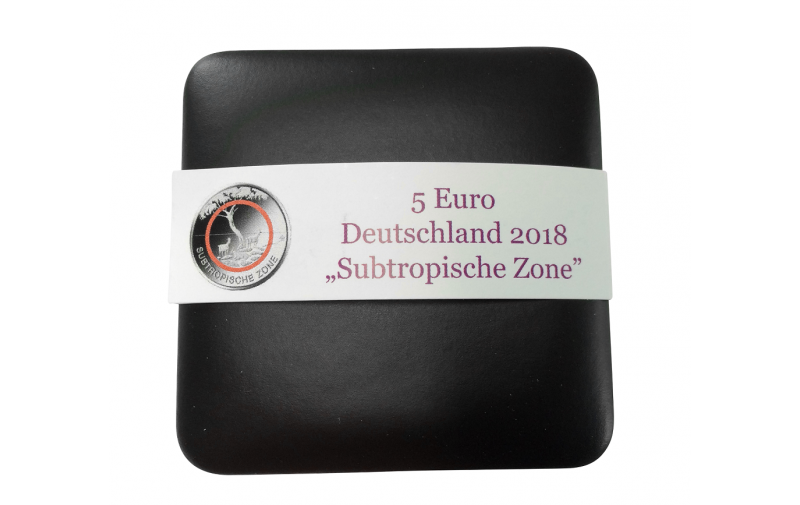 Münzjuwel Luxus Schatulle Für 5 Euro Münze 2018 Subtro